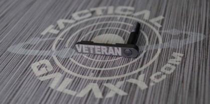 VETERAN AR-15/M4 LOWER MAGAZINE RELEASE CATCH ( LATCH )