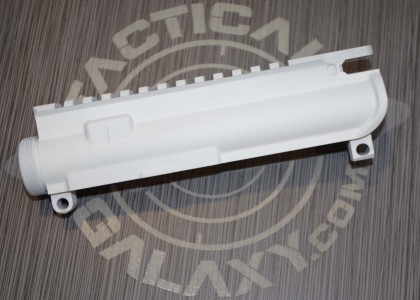 UPPER FOR AR15 WHITE CERAKOTE