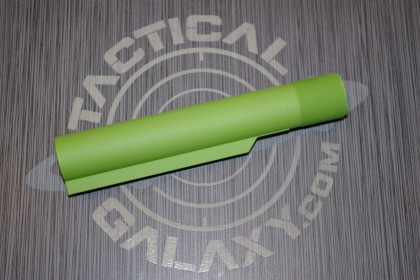 BUFFER TUBE FOR AR15 ZOMBIE GREEN CERAKOTE (MIL-SPEC)
