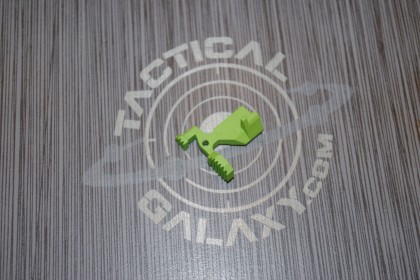 AR15 ENHANCED BOLT CATCH RELEASE LEVER- ZOMBIE GREEN CERAKOTE