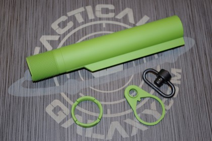 AR15 ZOMBIE GREEN CERAKOTE 3 PC REAR KIT