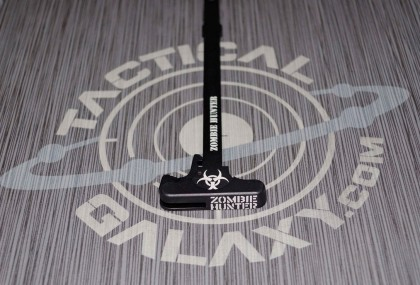 AR-15 ZOMBIE HUNTER BIO HAZARD  charging handle