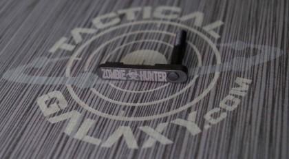ZOMBIE HUNTER BIO HAZARD AR-15/M4 LOWER MAGAZINE RELEASE CATCH ( LATCH )