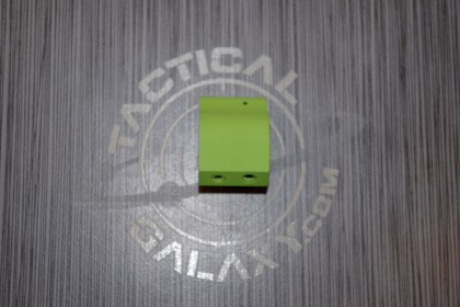 AR-15 ZOMBIE GREEN CERAKOTE  low pro gas block .750