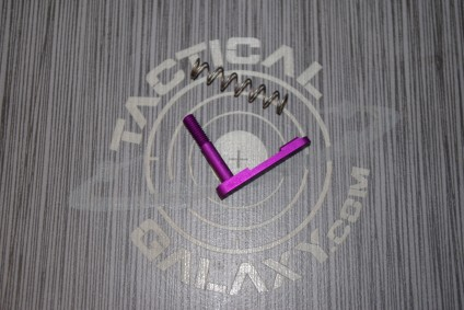 AR15 BLOOD MOON PURPLE ANODIZED MAG CATCH