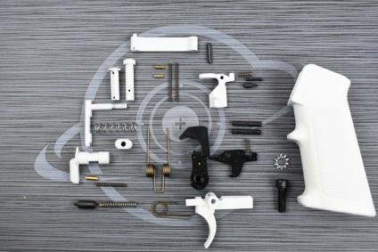 White Cerakote anderson LPK ( lower parts kit )