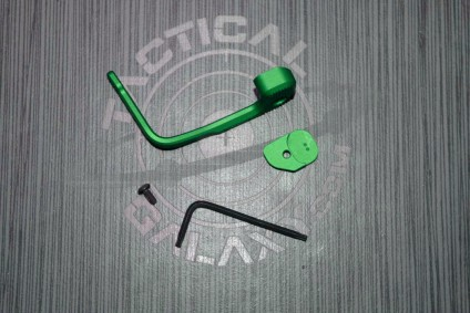 Green Anodized MAGPUL B.A.D. Lever® - Battery Assist Device – AR15/M4