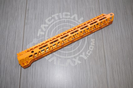 AR15 ORANGE Anodized ENFORCER 15 INCH HAND GUARD RAIL
