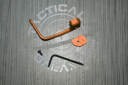 Orange Anodized MAGPUL B.A.D. Lever® - Battery Assist Device – AR15/M4