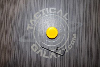Forward cap for AR15 Orange Anodized