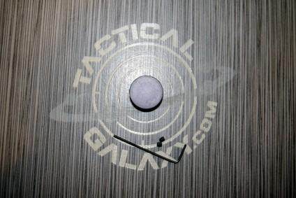 Forward cap for AR15 Sniper Grey Anodized