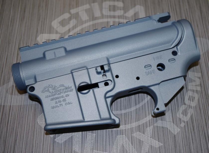 TITANIUM BLUE CERAKOTE AR-15 PARTS