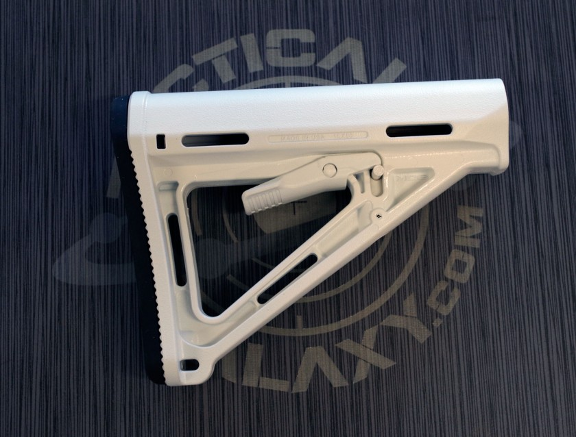WHITE CERAKOTE AR-15 PARTS