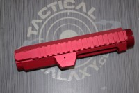 308 Red Anodized STRIPPED BILLET UPPER RECEIVER