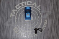 AR-15 Blue Anodized Low Profile Hand Stop