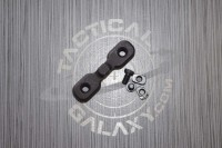 AR15 Black Anodized Keymod Bipod Adaptor