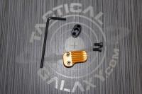 AR15 Orange Anodized AR EXTENDED MAGAZINE RELEASE
