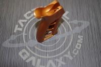 AR-15 Orange Anodized ENFORCER AR PISTOL GRIP