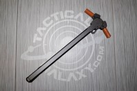 AR15 Ambidextrous Charging Handle with Camo Brown Anodized Latches