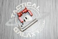 AR15 GEN SAFETY SELECTOR LEVER  CRIMSON RED CERAKOTE 2