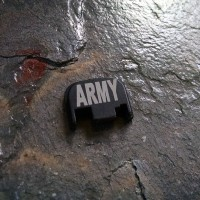 REAR SLIDE COVER PLATE FOR GLOCK - US Army