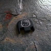 REAR SLIDE COVER PLATE FOR GLOCK - Hello Kitty