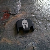 REAR SLIDE COVER PLATE FOR GLOCK - Spartan Helmet