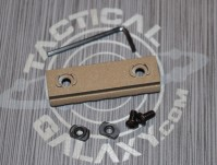 "Burnt Bronze  2 3/8"" picatinny rail 2"