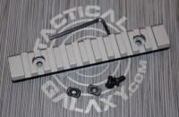 """Savage Stainless Cerakote 5"""" picatinny rail"""
