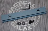 "Titanium Blue Cerakote 5"" picatinny rail  2"