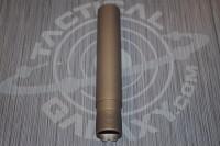 BURNT BRONZE PISTOL LENGTH Buffer Extension Tube 1