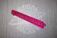 AR15 Pink Anodized ENFORCER 15 INCH HAND GUARD RAIL