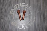 AR15 CAMO BROWN ANODIZE AR Pins