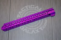 AR 15 Purple Anodized ENFORCER 15 INCH HAND GUARD RAIL