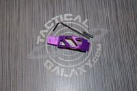 AR 15 Purple Anodized enhanced trigger guard