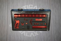 Red Anodized Timber Creek Complete Enforcer Kit