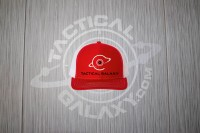 TACTICAL GALAXY RED AND WHITE TRUCKER HAT