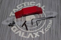 RED Anodized AR-15 4 Piece Upgrade Set
