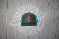 TACTICAL GALAXY BLACK AND BLUE TRUCKER HAT