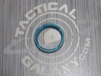 AR15 Teal Anodized MilSpec Castle Nut Locking Nut For 223