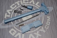 AR15 TITANIUM BLUE CERAKOTE 3PC UPPER PARTS KIT