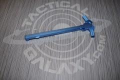 AR-15 Ambidextrous Charging Handle  Blue Anodized 2