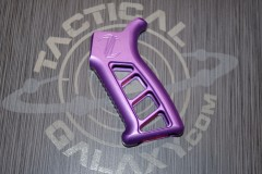 AR 15 Purple Anodized pistol grip made by Timber Creek