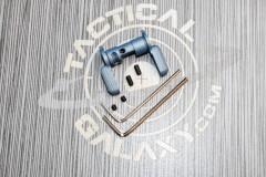 AR15  AMBI SAFETY SELECTOR LEVER-TITANIUM BLUE CERAKOTE 3