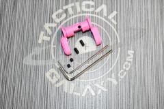 AR15  AMBI SAFETY SELECTOR LEVER PINK CERAKOTE 2