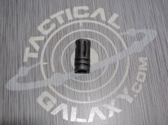 "Flash Hider A2 1/2""-28 Thread AR-15 Matte"