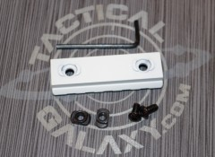"White  2 3/8"" picatinny rail 2"