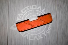Orange Anodized AR15 Ejection Port Dust Cover