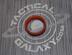 AR15 Orange Anodized MilSpec Castle Nut Locking Nut For 223