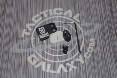 AR-15 2PC Oversized Magazine Extended Release Button - 50 Beowulf